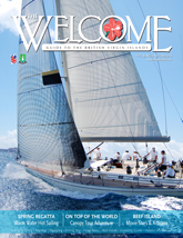 BVI Welcome magazine cover photo