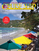 BVI Cruise Ship guide cover photo